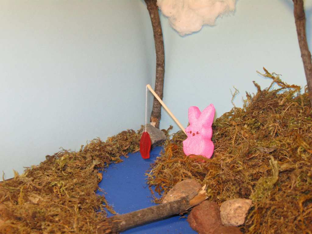 """. \""""Some-Bunny Loves Catching Swedish Fish,\"""" by TJ Haugen"""