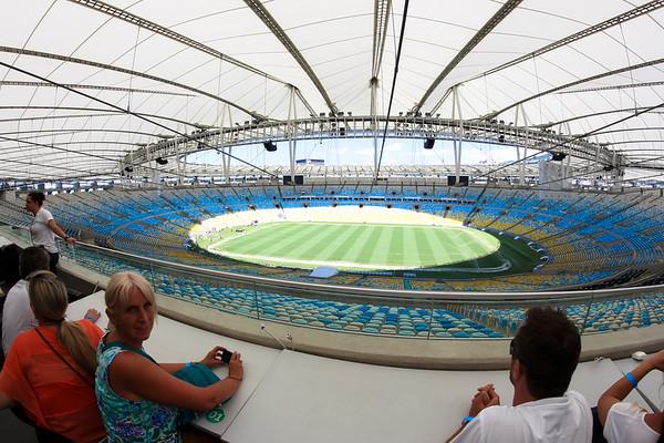 Maracanã stadium, Rio de Janeiro - December, 2013