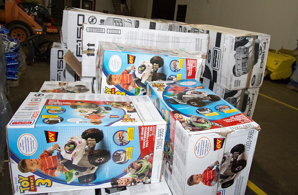 07/11/19 Wesley Bunnell | Staff Approximately 300 toy cars were donated and delivered by Fisher-Price to expand the Go Baby Go! program which is a learning project between New Britain High School and CCSU students in the technology fields. The program helps children with limited mobility by modifying toy cars for the exact needs of each child.