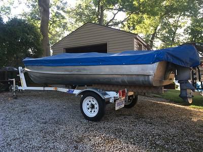 1955 Wagemaker Wolverine Savoy (Model #7346) 14' Aluminum Boat