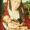 Mary with Child by Hans Memling , 1494. Royal Museums of Fine Arts of Belgium, Brussels, Belgium