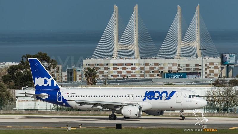 Joon / Airbus A320-214 / F-GKXN