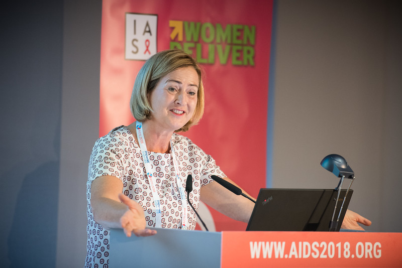 22nd International AIDS Conference (AIDS 2018) Amsterdam, Netherlands   Copyright: Marcus Rose/IAS  Photo shows: Generation Now: Our health, Our Rights. Putting Words into Action: Taking Integration Forward in our Movement. Speaker: Yoka Brandt, Ministry of Foreign Affairs, Netherlands.