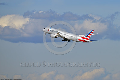 Boeing 787 Dream Liner American Airline Pictures For Sale