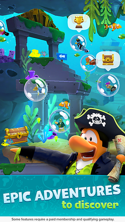 'Club Penguin Island' takes popular franchise mobile