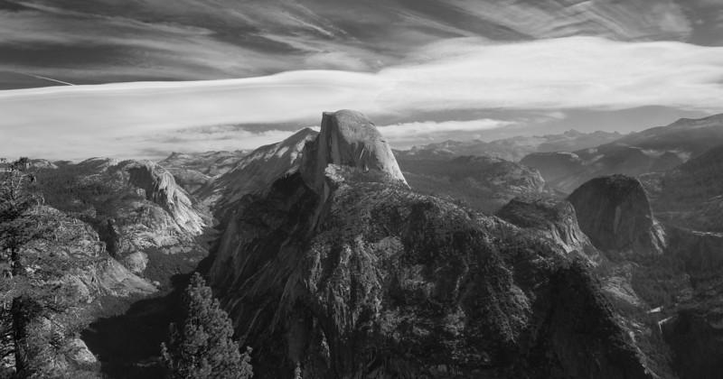 Yosemite National Park B&W