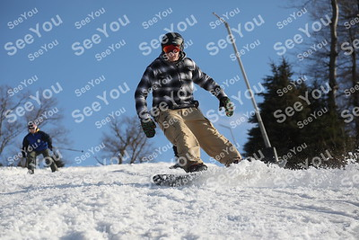 Action Photos on the Slopes