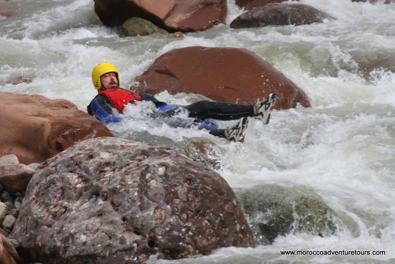 A half day tubing adventure at Ourika river just 45min outside of Marrakech enjoin us at www.moroccoadventuretours.com