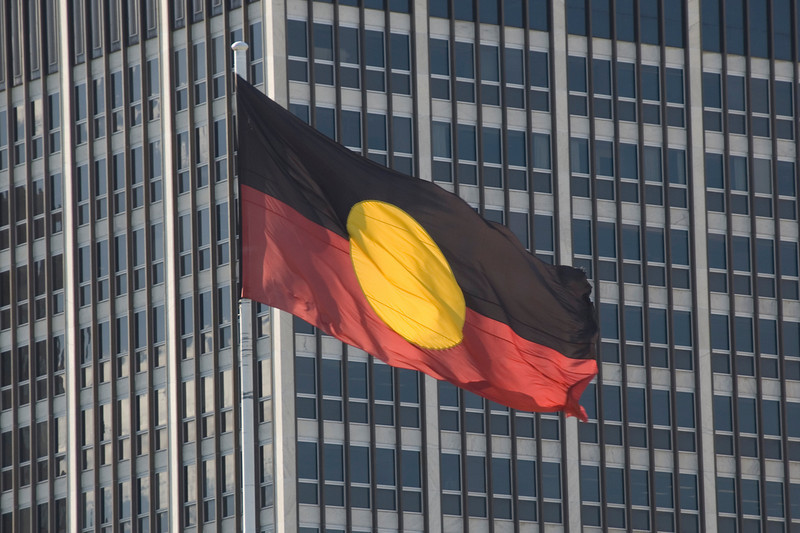 Aboriginal Flag - Adelaide, South Australia