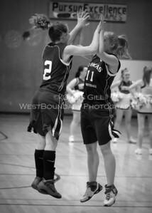 Lady Vikings basketball @ LaConner HS Lions