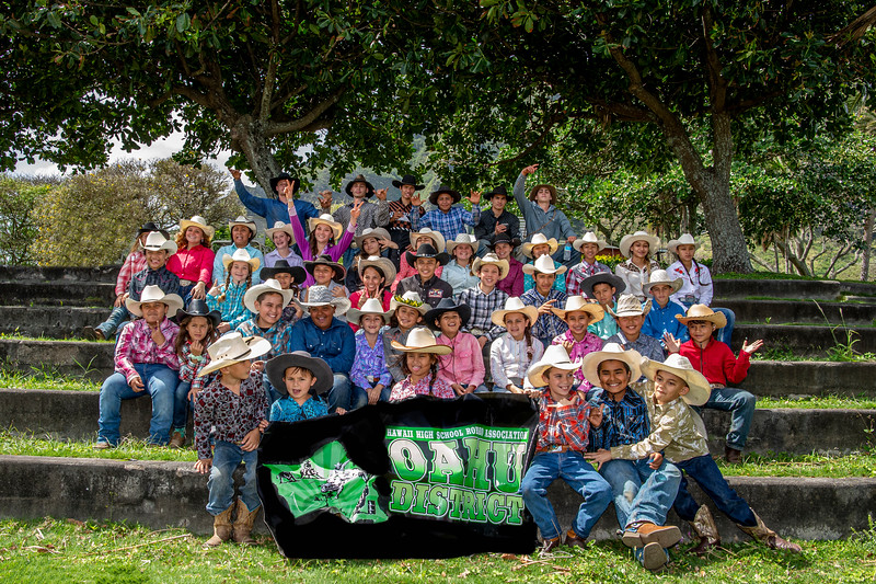 OAHU JR. and HIGH SCHOOL RODEO MARCH 7 2020
