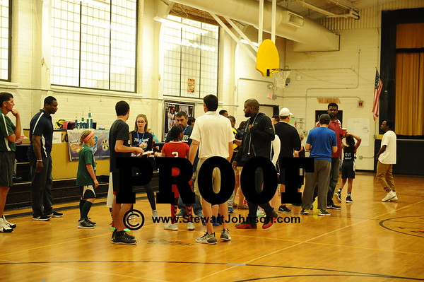 1  Saturday -  8 yr olds Three Point Competition
