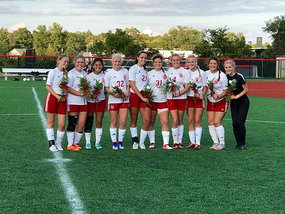 Girls Soccer 2016 Senior Night