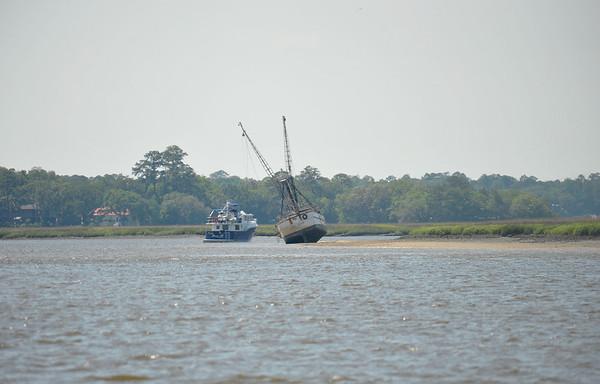 Sea Hawk Shrimper Sunk 05-08-09