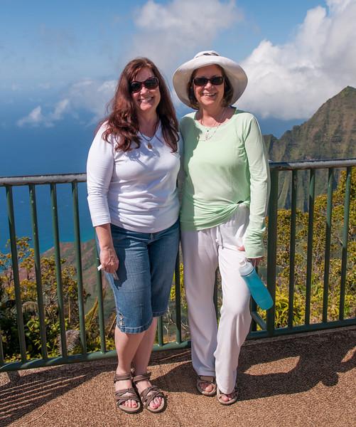 Kathleen and Jaynne at the Na Pali Coast.jpg