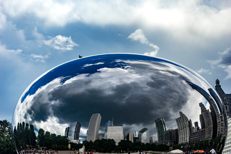 Another That's Why They Call It the Cloud Gate Bean - June 18, 2017