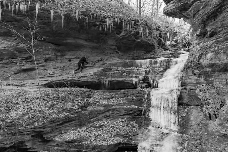 Little Grand Canyon, Southern Illinois, December 2017