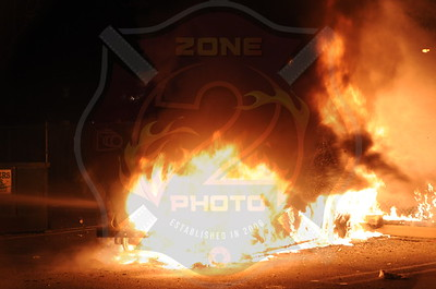 Seaford F.D. Car Fire 2250 Merrick Rd. (CVS) 11/23/12