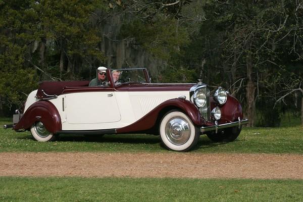 Rick & Sandy Barrett<p>1936 Bentley Derby