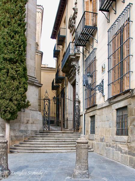 Sat 3/05 in Madrid: Adjacent to Basilica de San Miguel