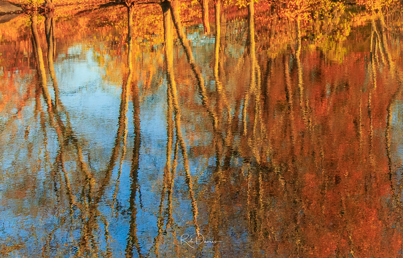 Fall Reflections in New Hampshire