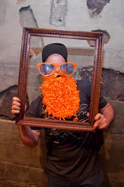 Beard Booth @ Balliceaux