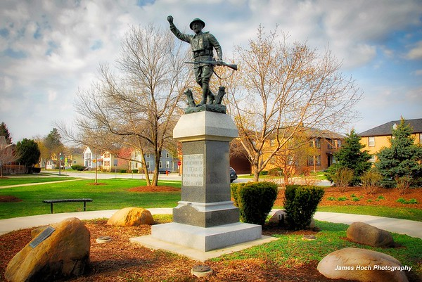 Naperville Military & Fire & Police Memorials