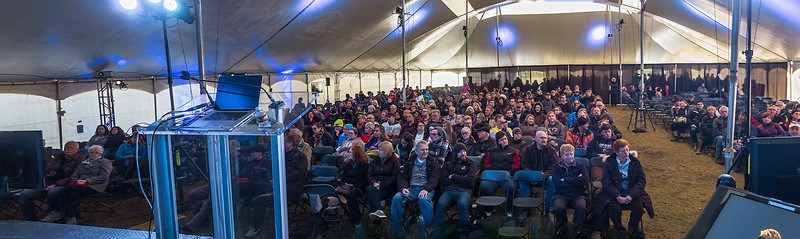 Audience for My Feature Talk at Jasper Dark Sky Festival
