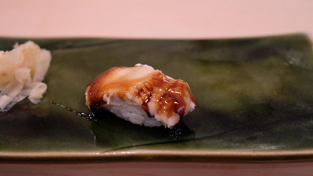 Anago, or ocean eel.