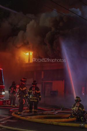 Structure Fire - 213 Capen Street, Hartford Ct, - 10/9/20