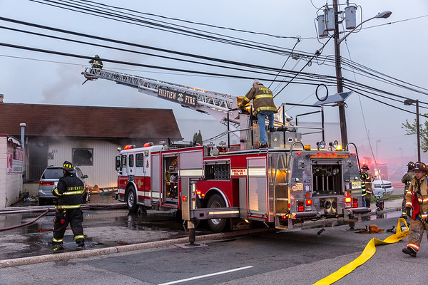 Fairview NJ 2nd alarm+, 165 Broad Ave. 04-28-21
