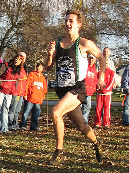 2005 Canadian XC Championships - Paul Morrison, runner-up two years in a row (30:06)