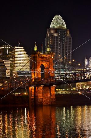 light up Cincinnati Skyline