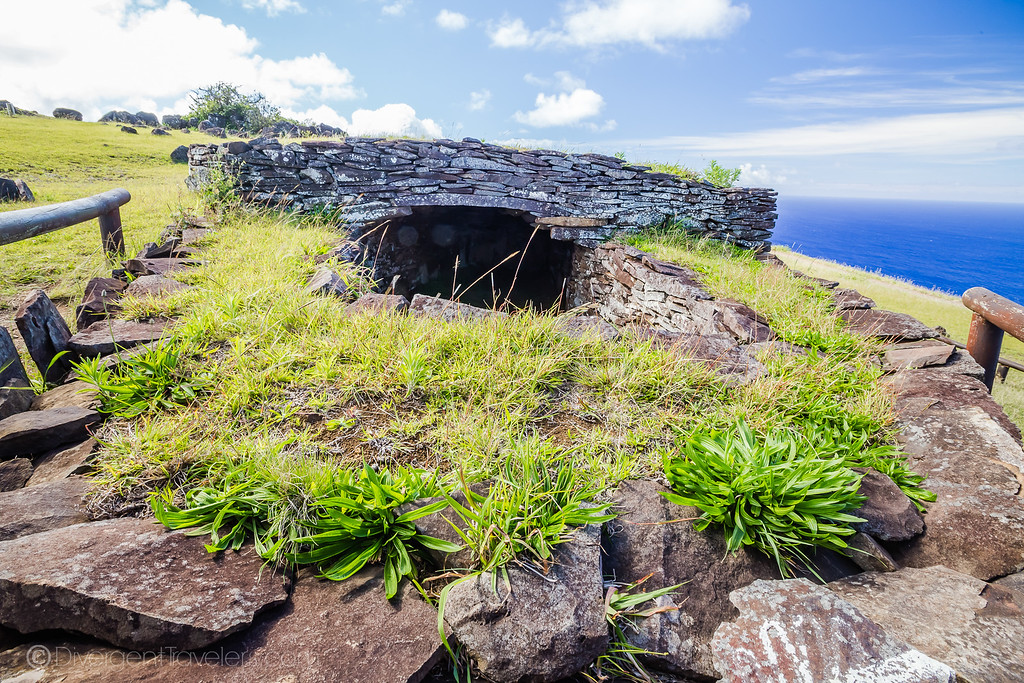 Rapa Nui National Park Easter Island - Orongo - Lina Stock