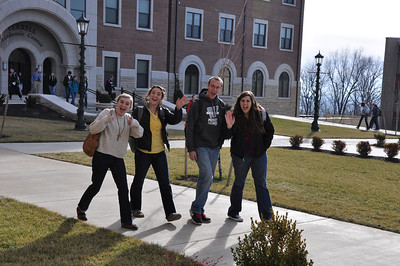 Spring 2013 ~ First Week of Classes