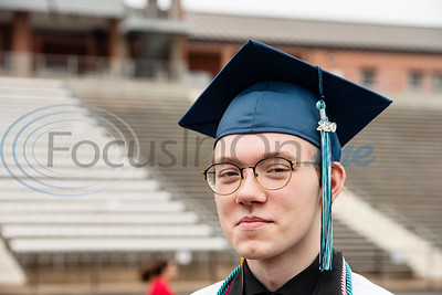 Tyler ISD Early College High School Salutatorian Aiden Brown Solo Graduation by Sarah A. Miller