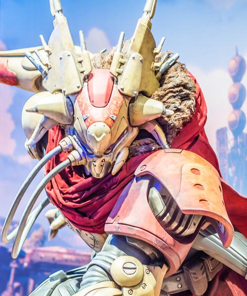 Destiny statue at Gamescom 2013