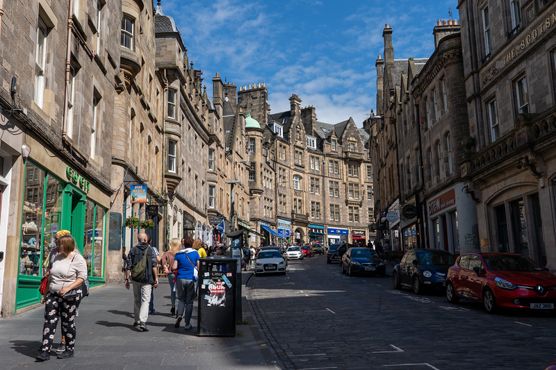 Cockburn Street in Edinburgh