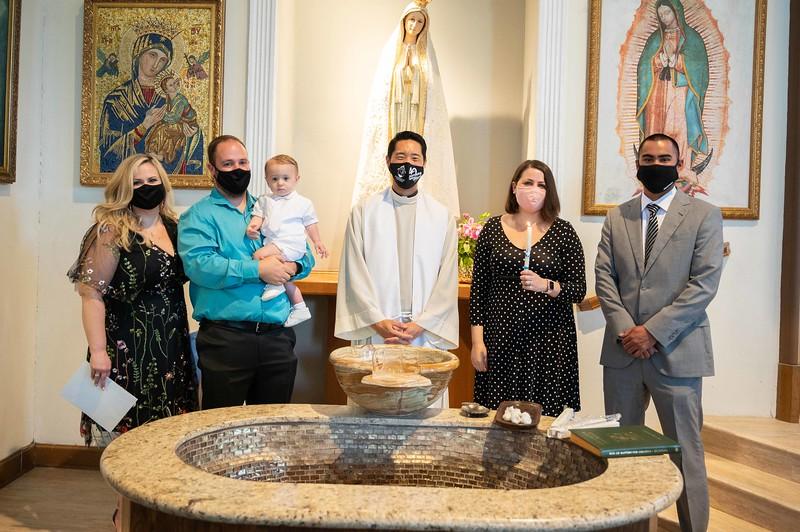 Luca DiLuzio's Baptism