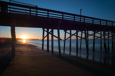 Newport Pier  Sunrise