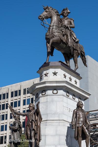 Washington Statue on Capitol Grounds