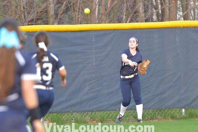 Softball - Briar Woods at Stone Bridge Varsity (Photos by Tom Lighton)