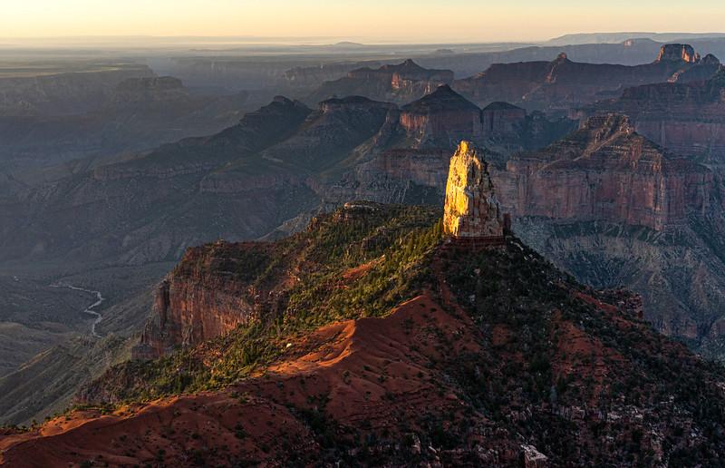 Mount Hayden, eastern Grand Canyon