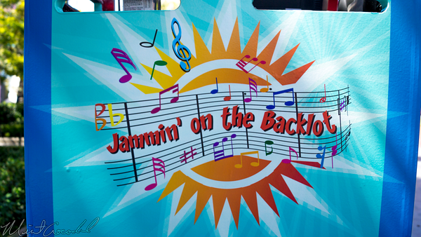 Disneyland Resort, Disney California Adventure, Hollywood, Land, Jammin, Backlot