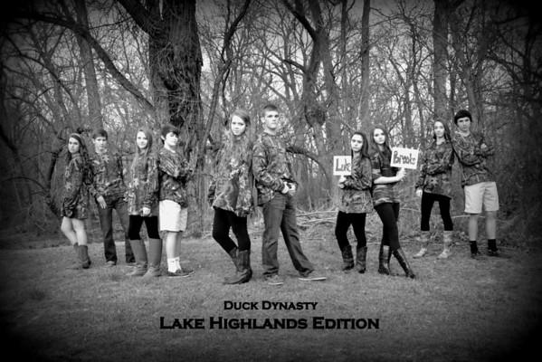 2013: LHFC Sadie Hawkins - Duck Dynasty Photos
