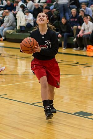 2015 ERHS Girls Varsity at Wilson Conference Playoffs