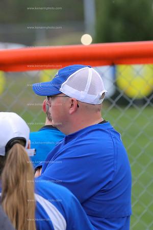 East Bladen vs Whiteville 18 softball