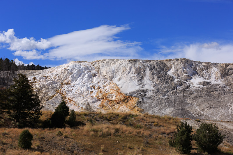 Mammoth Hot Springs 001