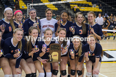 Volleyball 5A State Championship Briar Woods vs. Princess Anne (11.22.14) Scudder