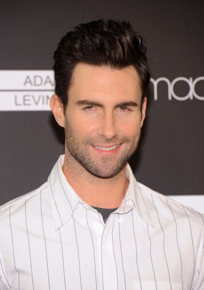 . NEW YORK, NY - FEBRUARY 15:  Musician Adam Levine attends Adam Levine Signature Fragrances Launch Event at Macy\'s Herald Square on February 15, 2013 in New York City.  (Photo by Jamie McCarthy/Getty Images)